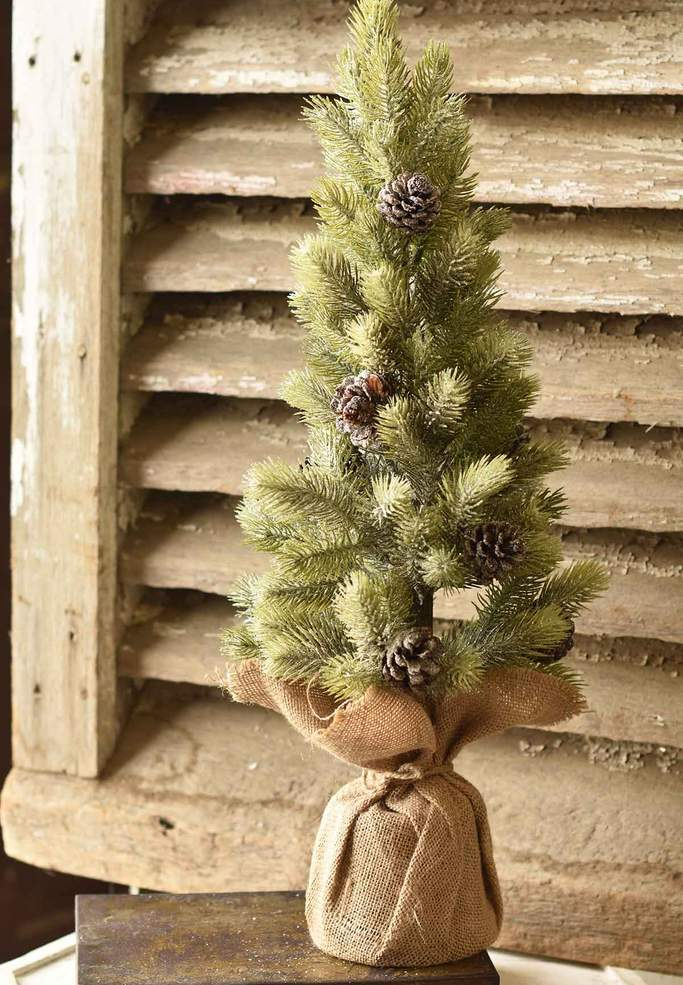 Icy Aspen Pine Tree - Table Top Christmas Tree - 24 Inch