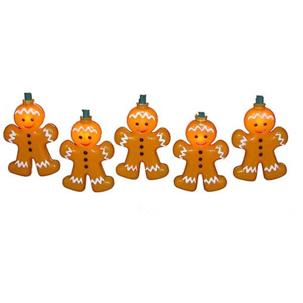Light Set - Gingerbread - Set of 10