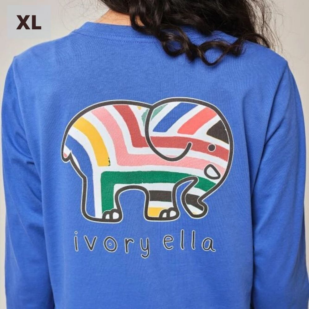 Ivory Ella Long Sleeve Shirt - Royal Sahara - XL