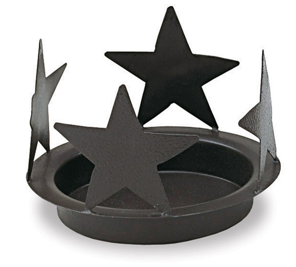Star Candle Pan - Black - 6.25 Inch