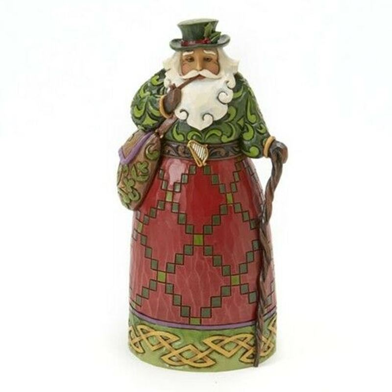Jim Shore Figurine - Irish Santa
