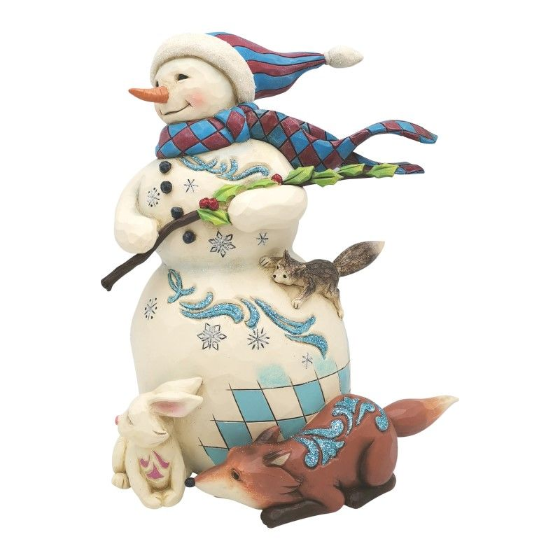 Jim Shore Figurine - Wonderland Snowman 2020