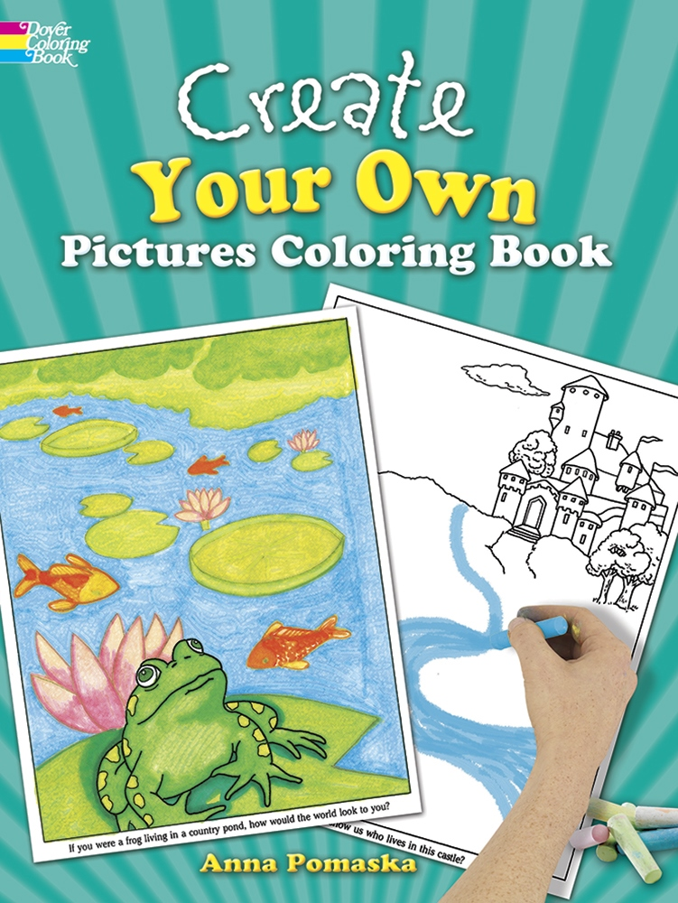 Kids Activity Book - Create Your Own Pictures Coloring Book