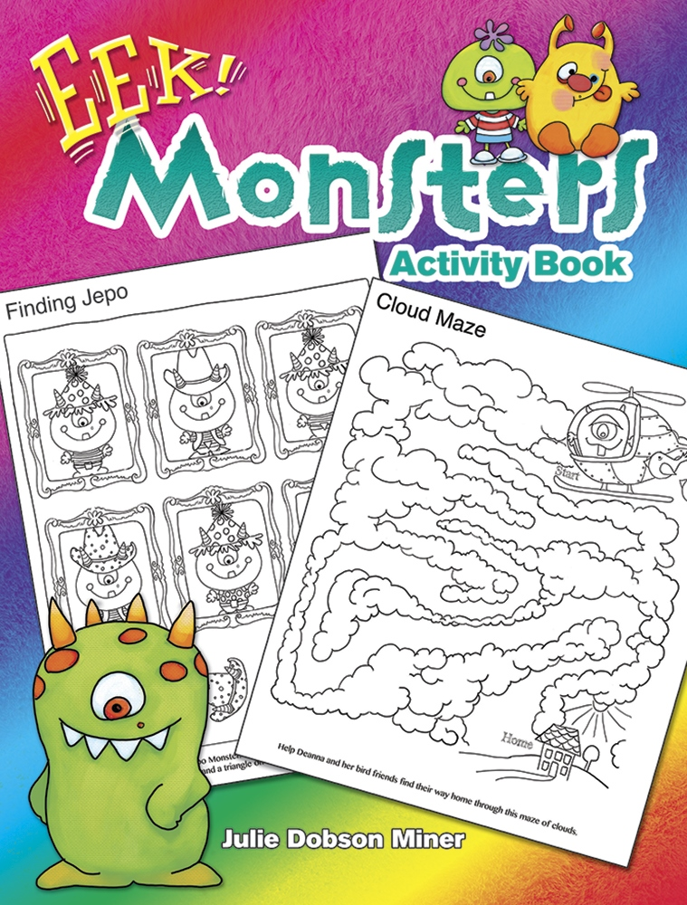 Kids Activity Book - EEK Monsters Activity Book