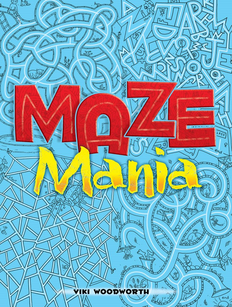 Kids Activity Book - Maze Mania