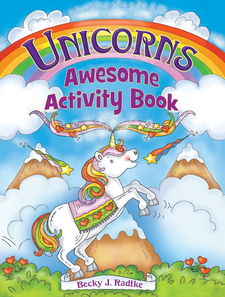 Kids Activity Book - Unicorns Awesome Activity Book