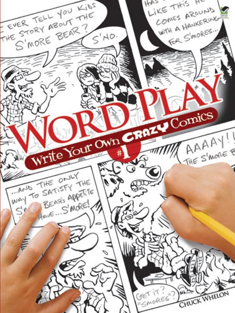 Kids Activity Book - Word Play - Write Your Own Crazy Comics 1