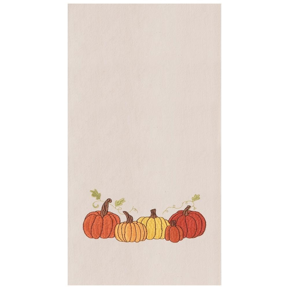 Flour Sack Dish Towel - Pumpkin Patch - 27in
