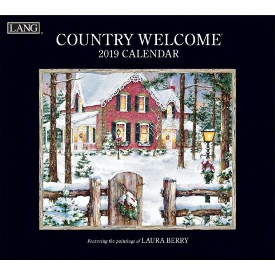 2019 Lang Calendar - Country Welcome - Artist Laura Berry