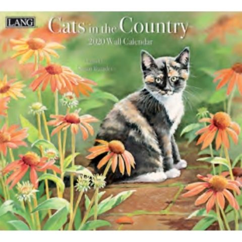 Lang Calendar - 2020 - Cats in the Country - Susan Bourdet