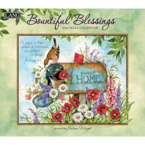 Lang Calendar - 2021 - Bountiful Blessings - Susan Winget