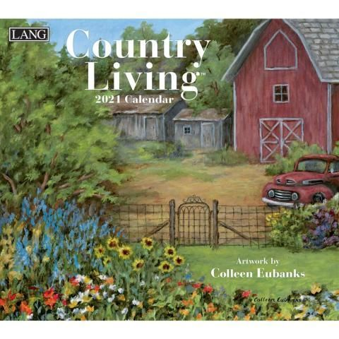 Lang Calendar - 2021 - Country Living - Colleen Eubanks