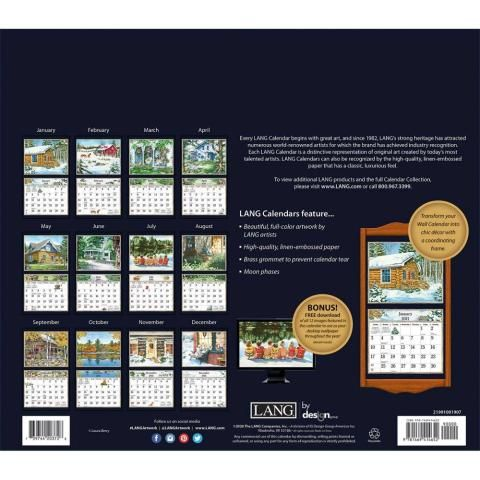 Lang Calendar - 2021 - Country Welcome - Laura Berry
