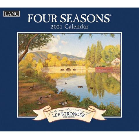 Lang Calendar - 2021 - Four Seasons - Lee Stroncek