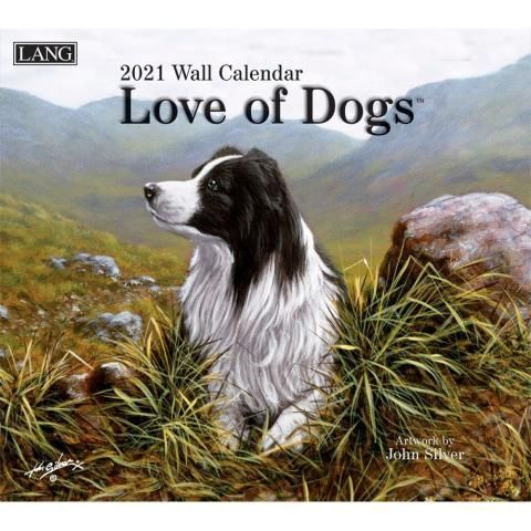 Lang Calendar - 2021 - Love of Dogs - John Silver