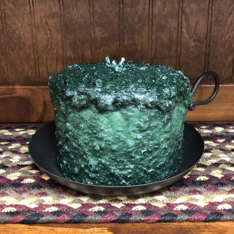 Large 3-Wick Cake Candle - Northern Pine - 5.5in x 4.5in