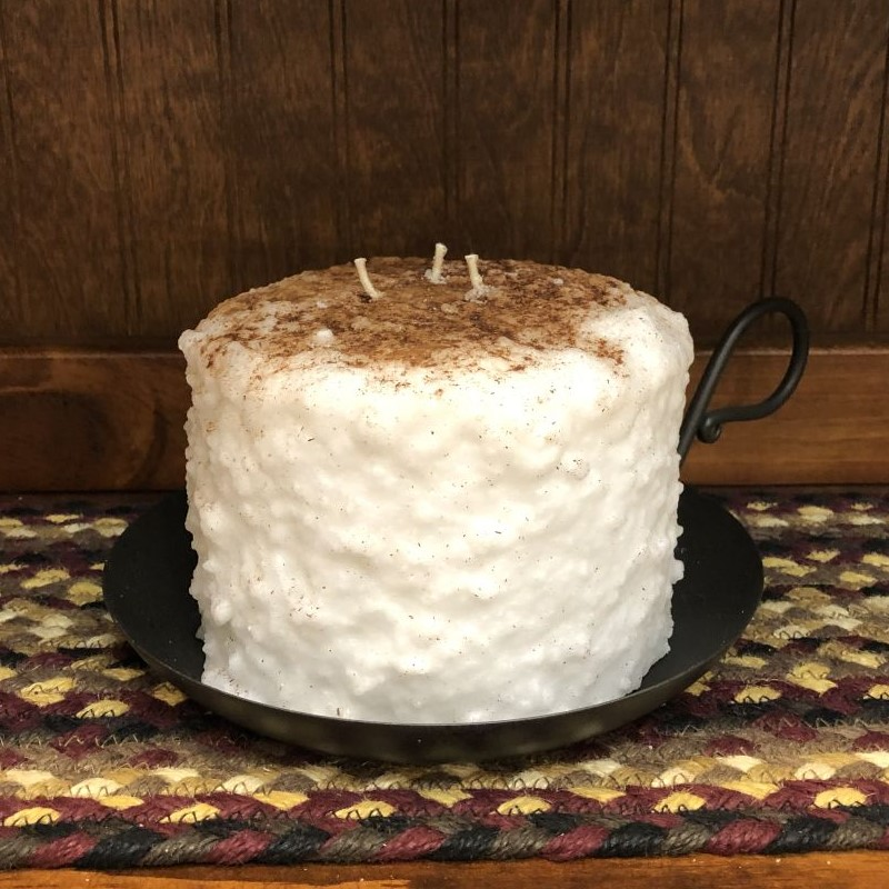 Large 3-Wick Cake Candle - Snickerdoodle - 5.5in x 4.5in