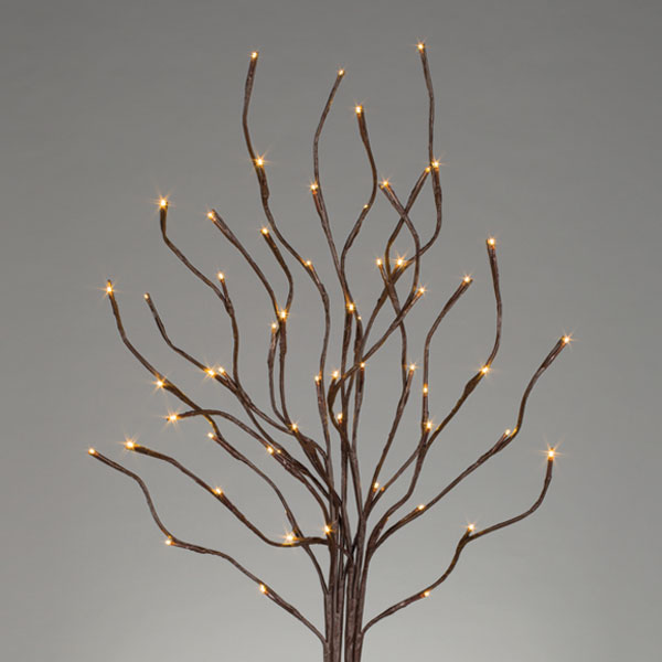 Lighted Branch - Battery/Warm White LED - Timer - 60 Lights - 39in
