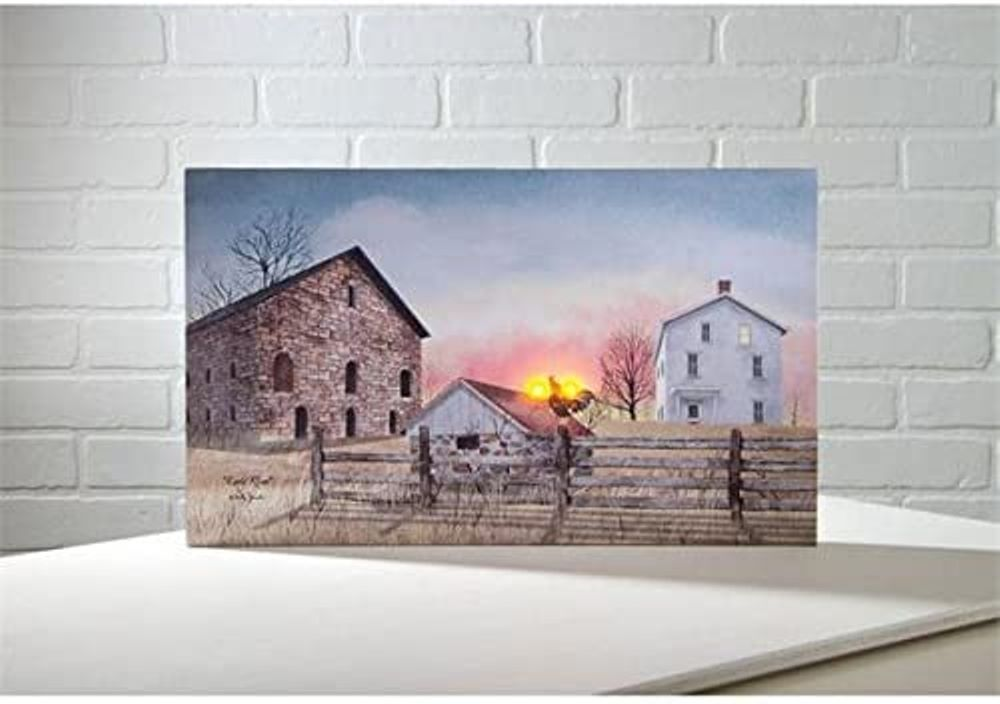 Lighted Canvas Pictures - Early Riser - 12in x 20in