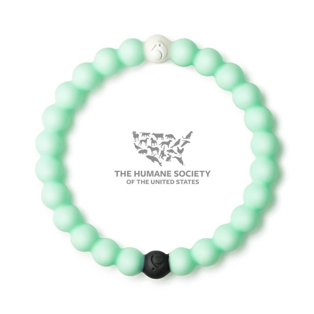 Lokai Bracelet - Animal Rescue - Mint - Medium