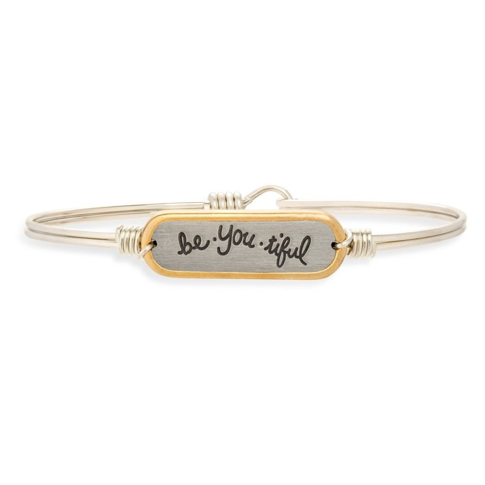 Luca + Danni Bracelet - Be-You-Tiful Bangle - Silver