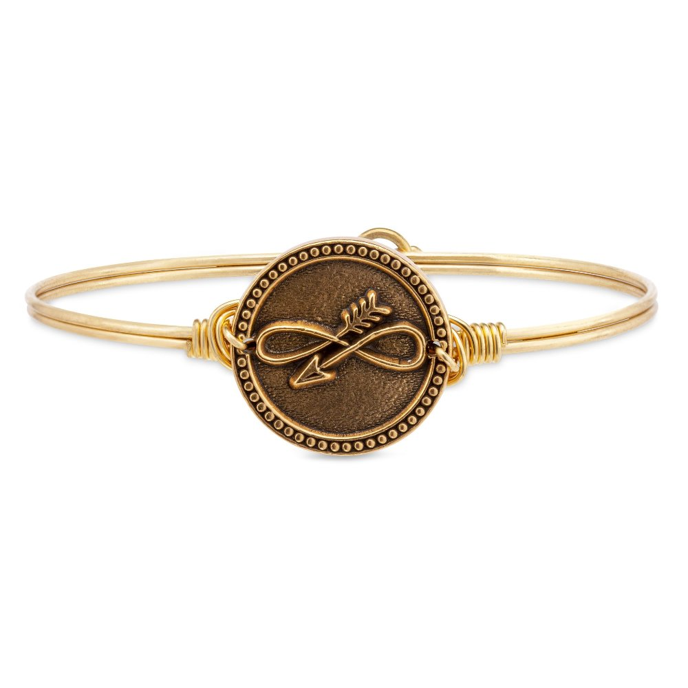 Luca + Danni Bracelet - Embrace the Journey Bangle - Gold