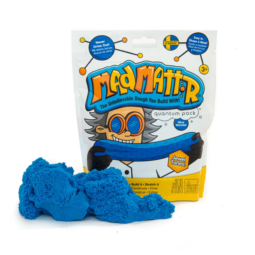 Mad Mattr - Sensory Toy - 10oz Pouch - Blue Wonder