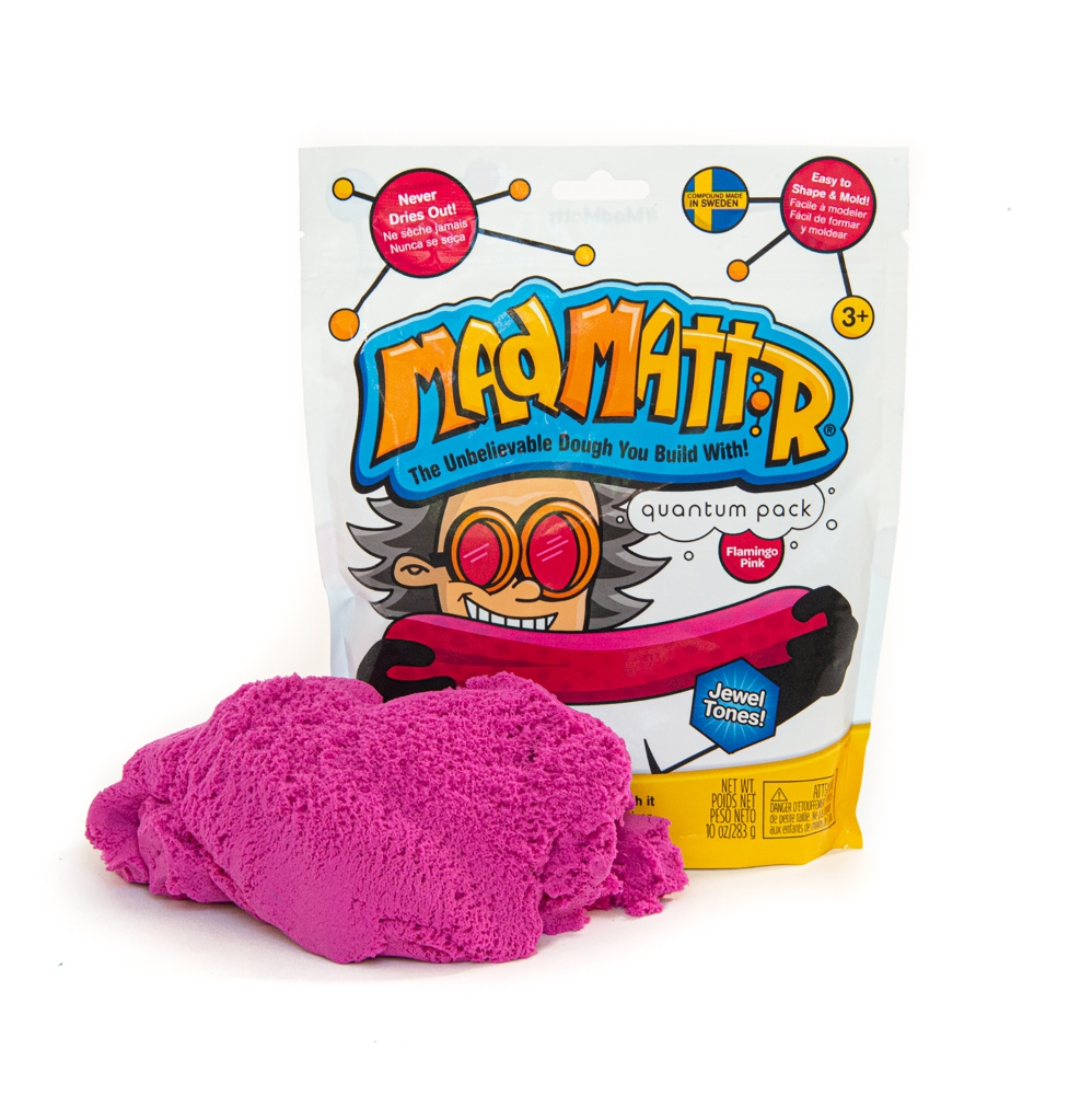 Mad Mattr - Sensory Toy - 10oz Pouch - Flamingo Pink