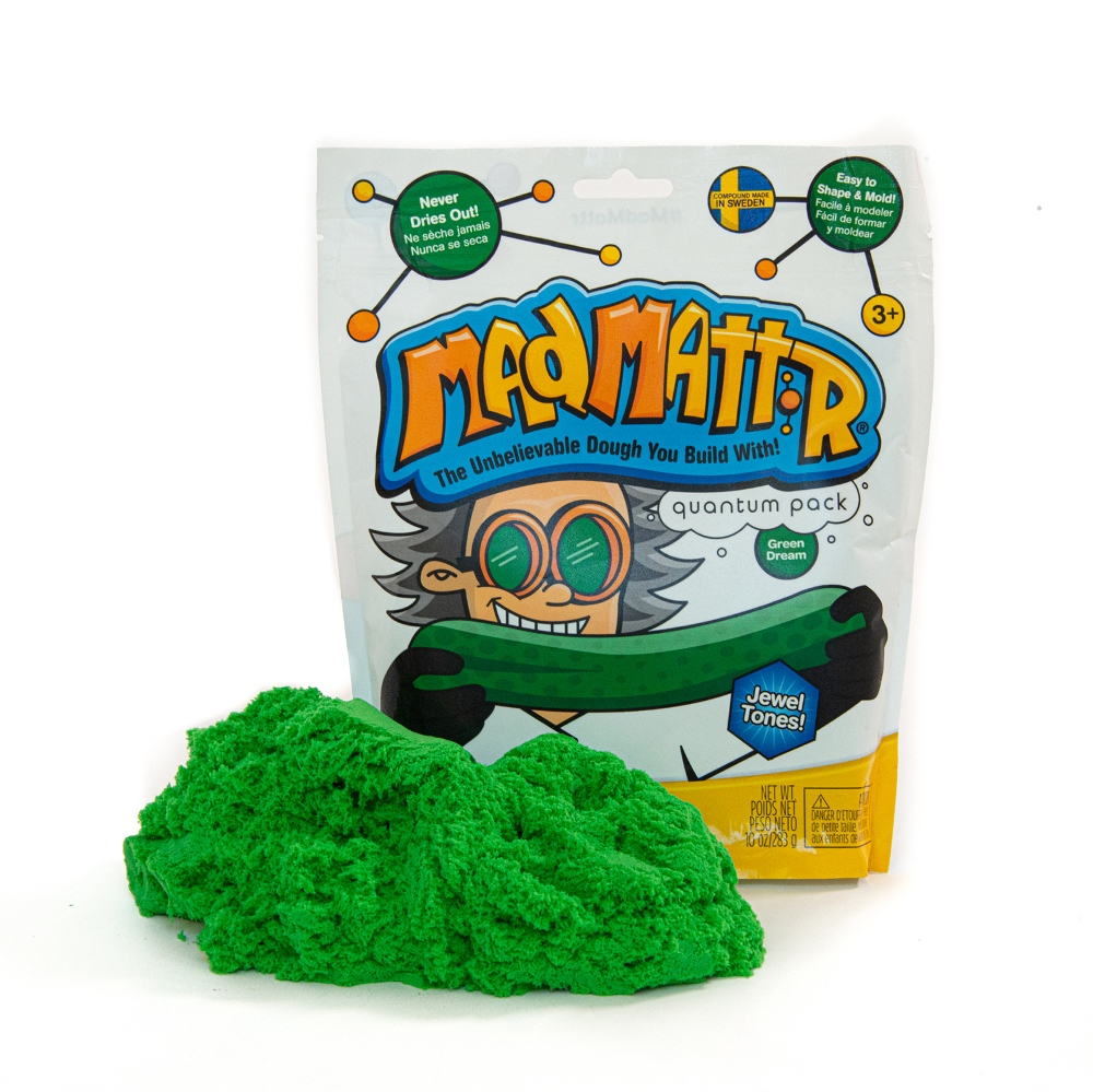 Mad Mattr - Sensory Toy - 10oz Pouch - Green Dream
