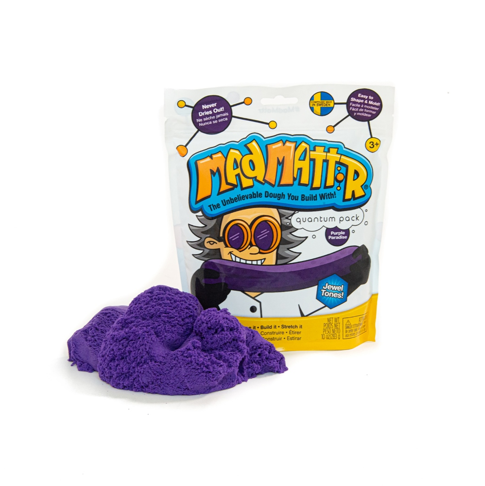 Mad Mattr - Sensory Toy - 10oz Pouch - Purple Paradise