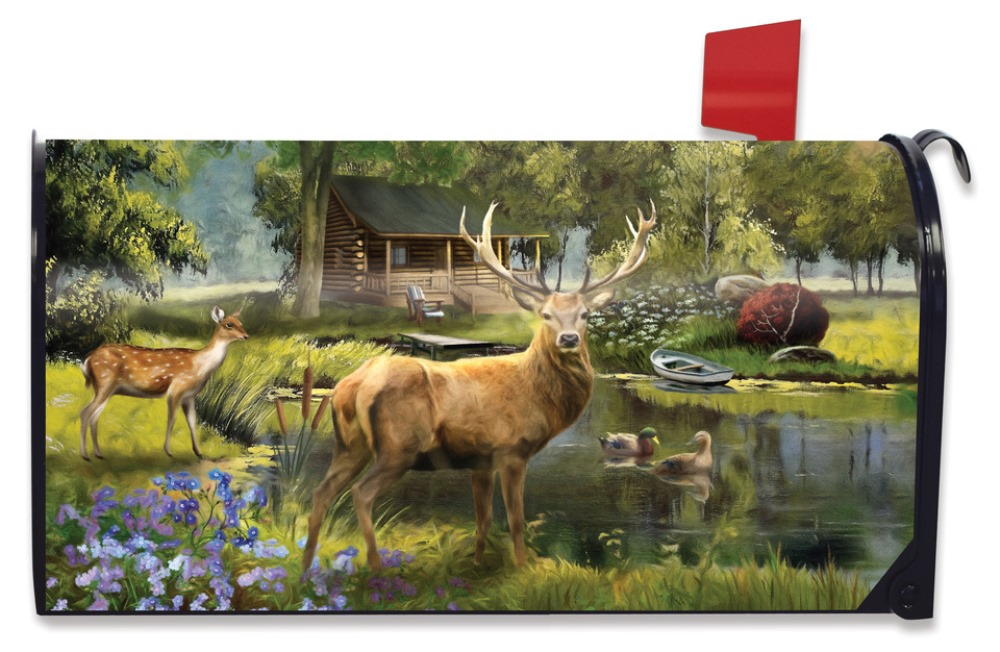 Magnetic Mailbox Cover - Great Outdoors - 6.5in x 19in