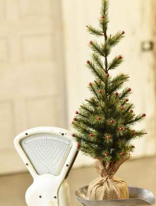 Mer Meri Tree - Table Top Christmas Tree - 26 Inch