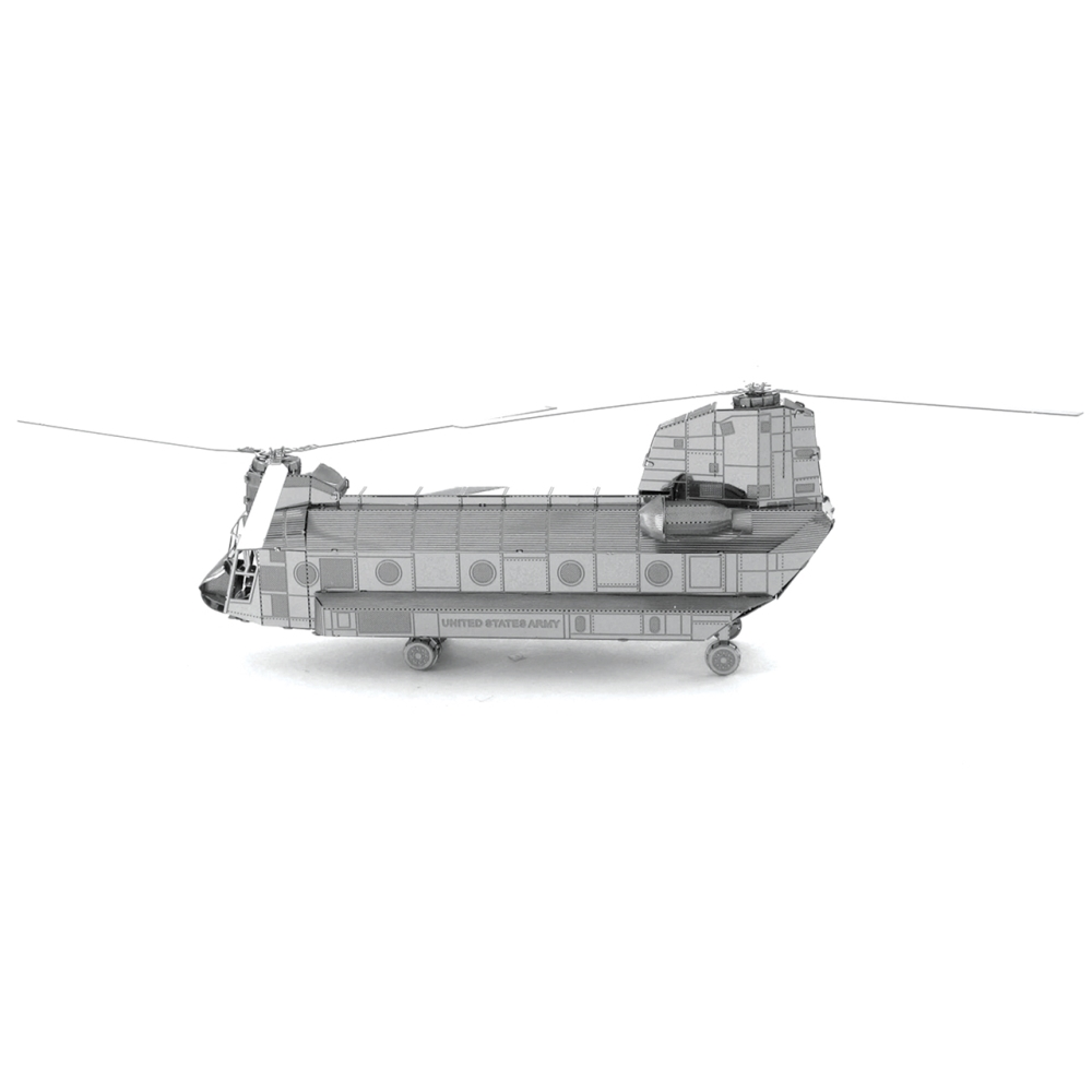 Metal Earth 3D Model Kit - CH47 Chinook Helicopter