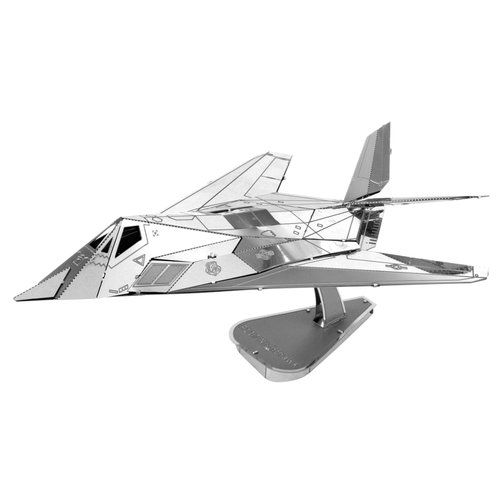 Metal Earth 3D Model Kit - F117 Nighthawk Plane