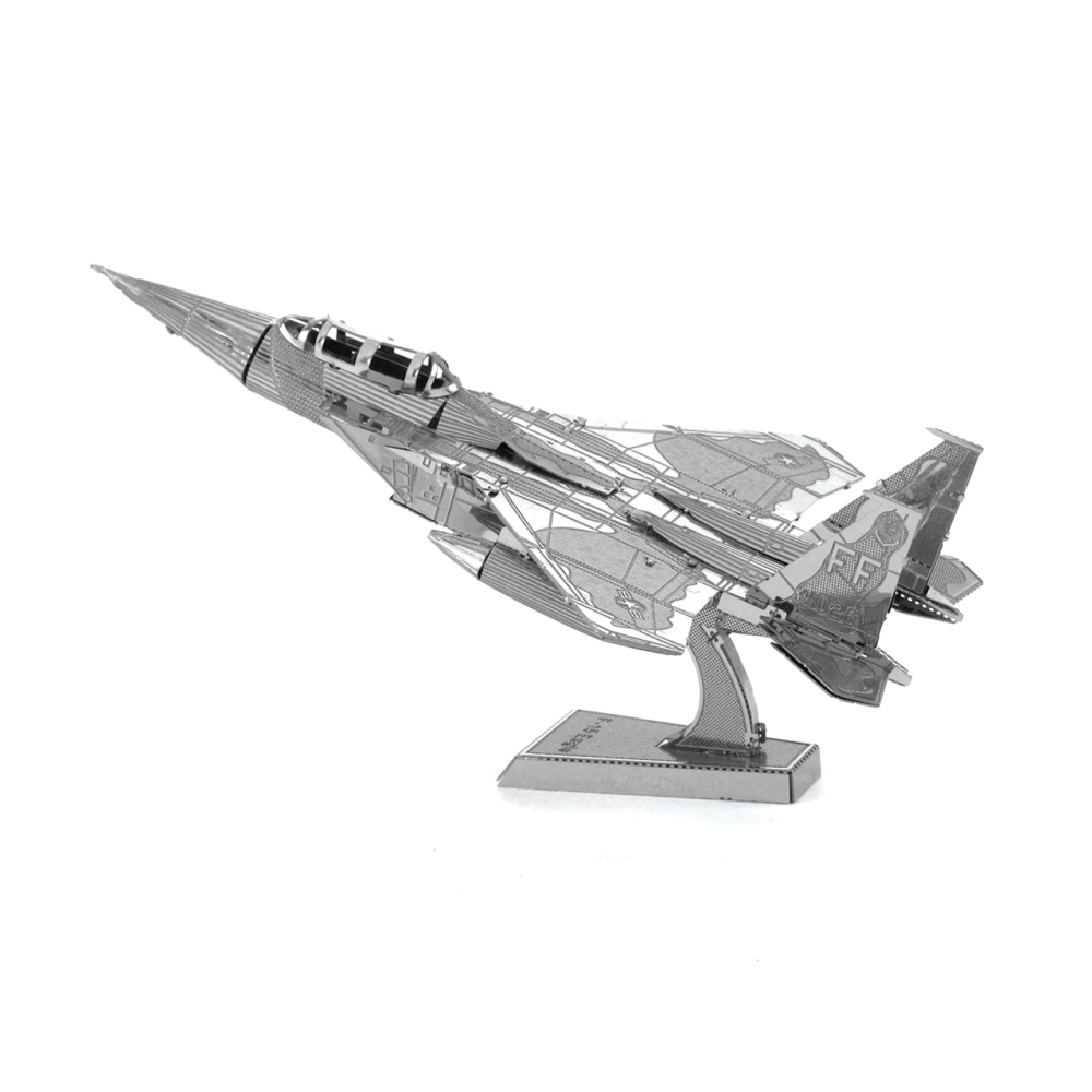 Metal Earth 3D Model Kit - F15 Eagle Plane
