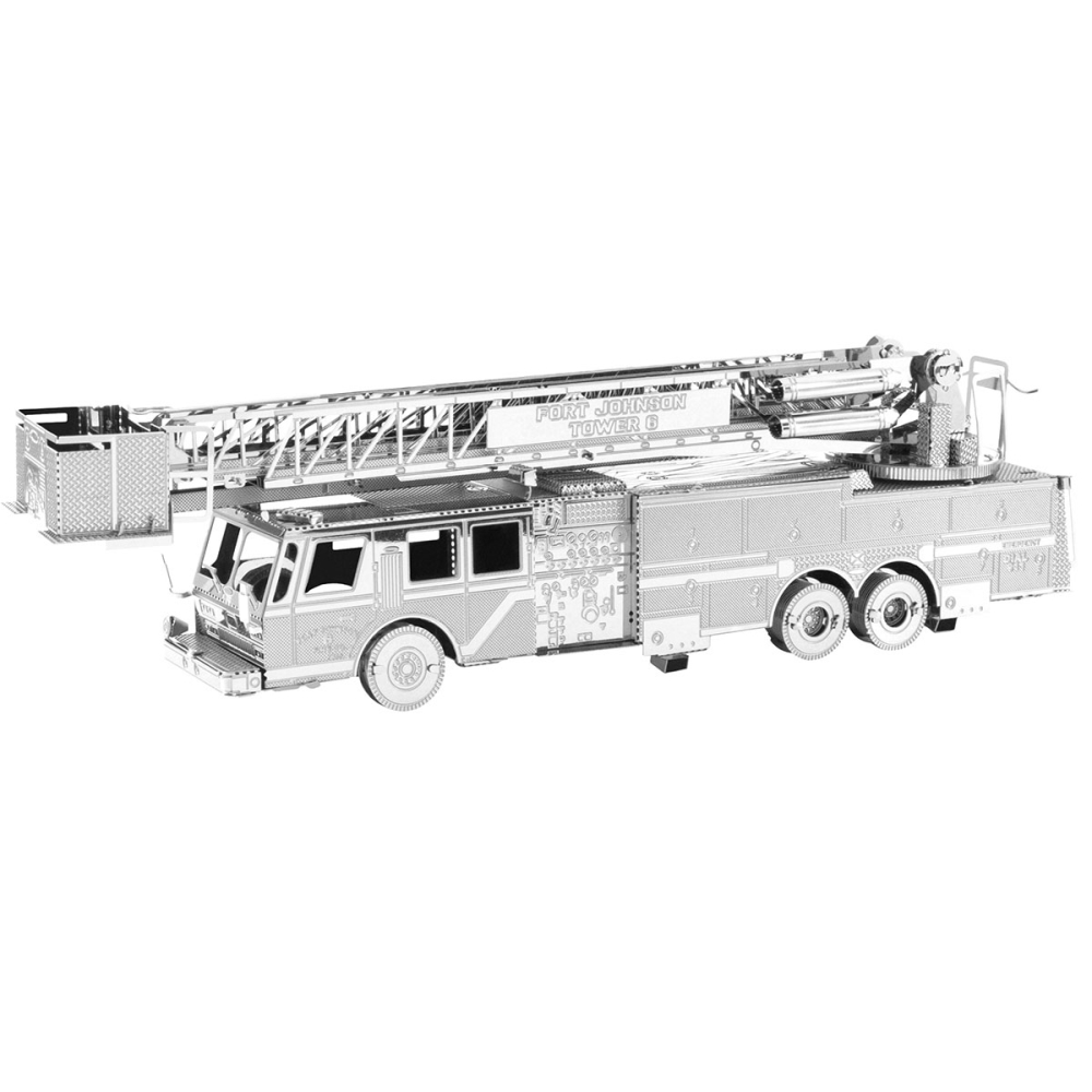 Metal Earth 3D Model Kit - Fire Engine Truck