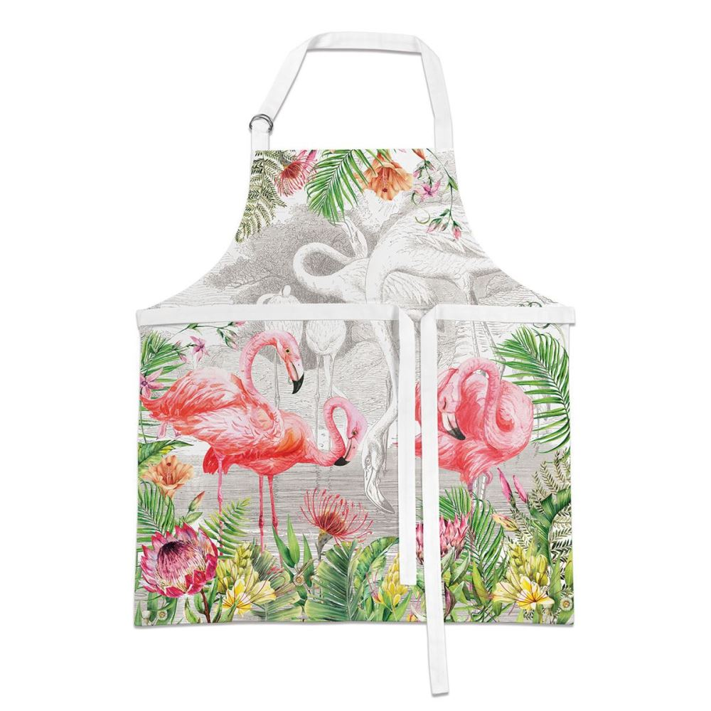 Michel Design Works - Apron - Flamingo
