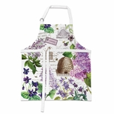 Michel Design Works - Apron - Lilac & Violets