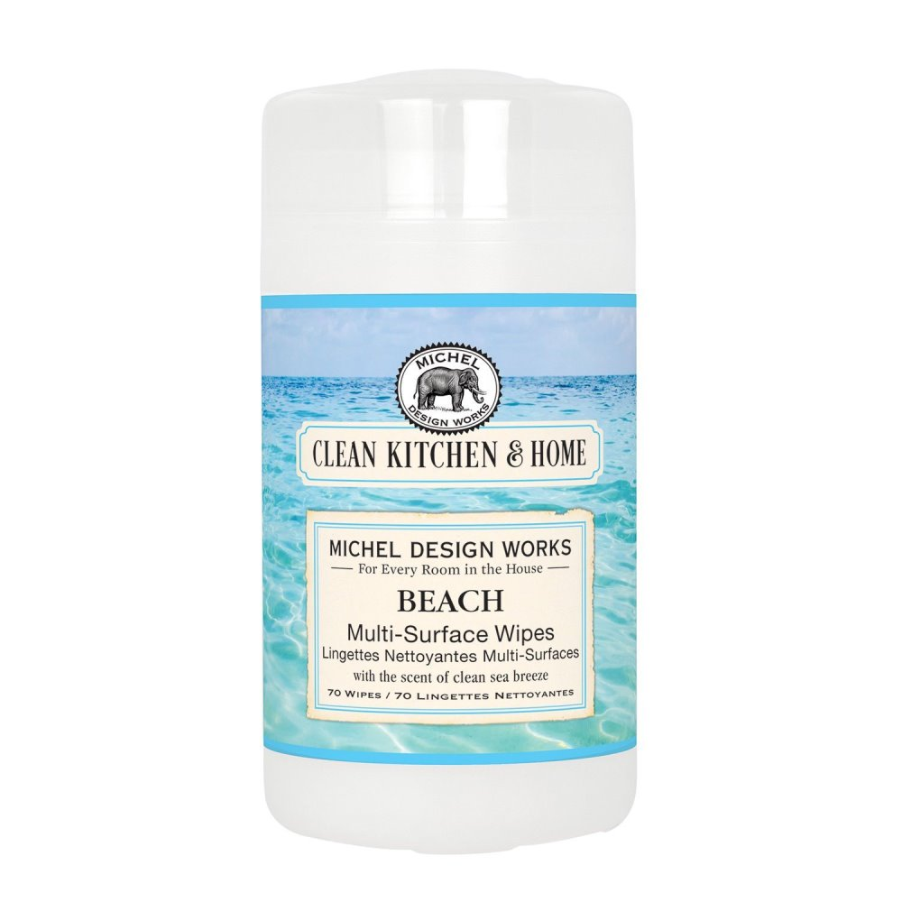 Michel Design Works - Multisurface Wipes - 60ct - Beach
