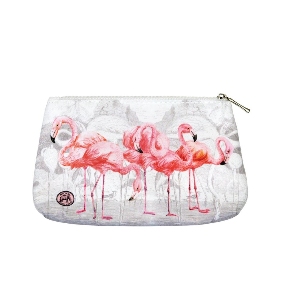 Michel Design Works - Small Cosmetic Bag - Flamingo