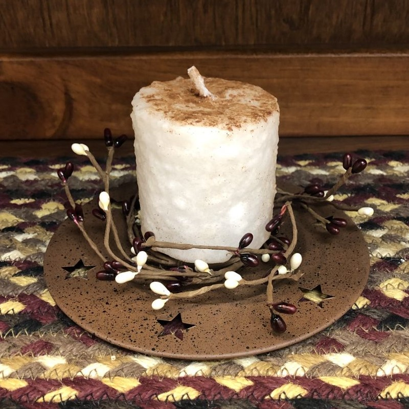 Mini Cake Candle - Snickerdoodle - 2.5in x 2.5in