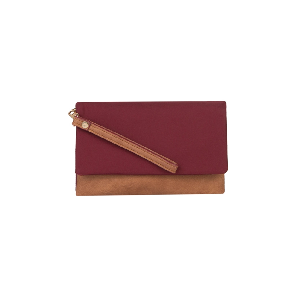Mona B Crossbody - Molly - Wine