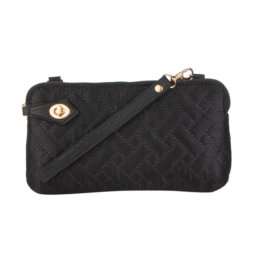 Mona B Crossbody - Posie - Black