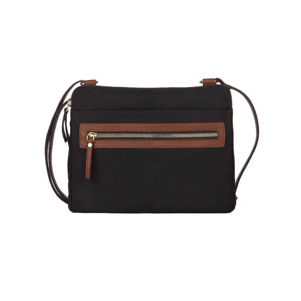 Mona B Crossbody - Tessa - Black