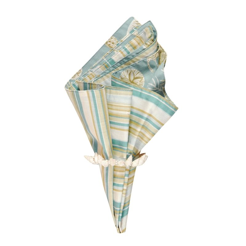 Reversible Napkin - Natural Shells - 20in