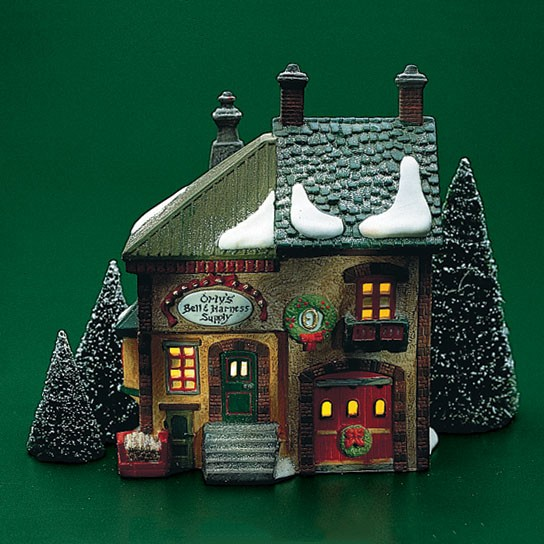 North Pole Village - Estate - Orlys Bell & Harness Supply 1991