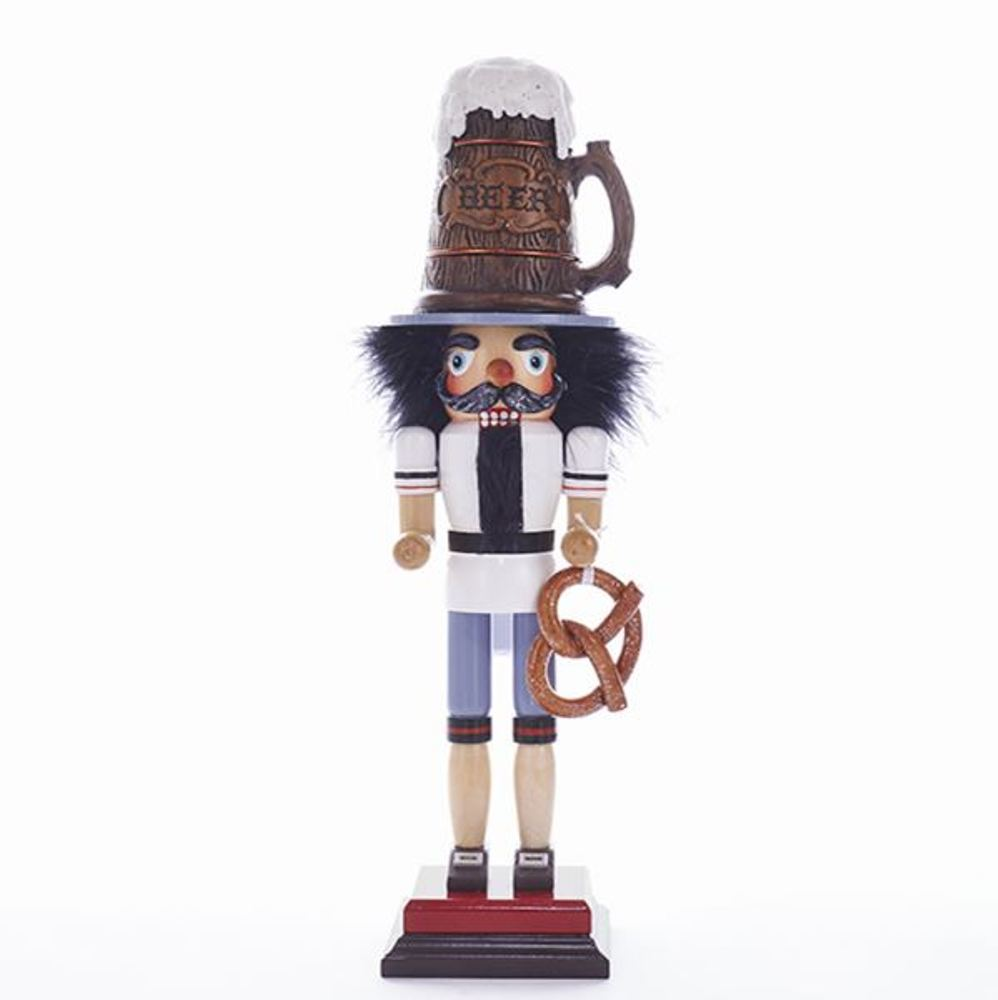 Nutcracker - Beer Guy Nutcracker - 18in