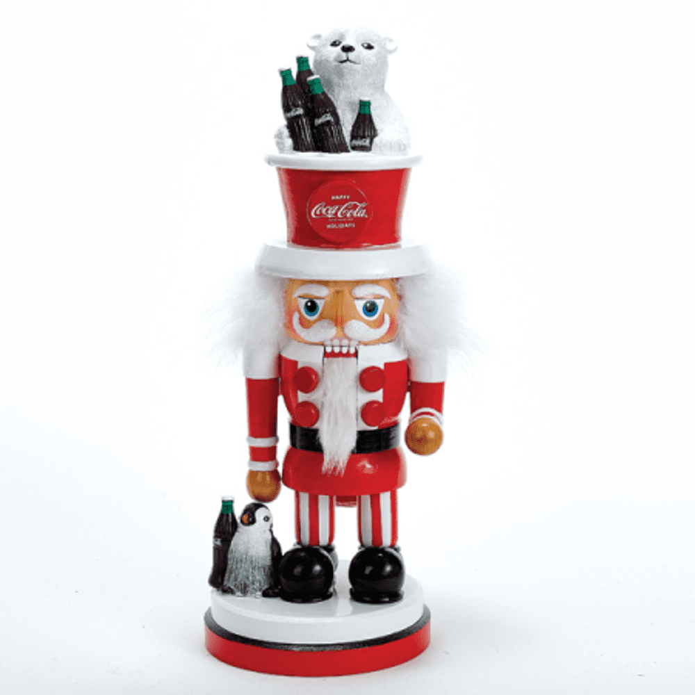 Nutcracker - Coca-Cola Nutcracker - 15.75in