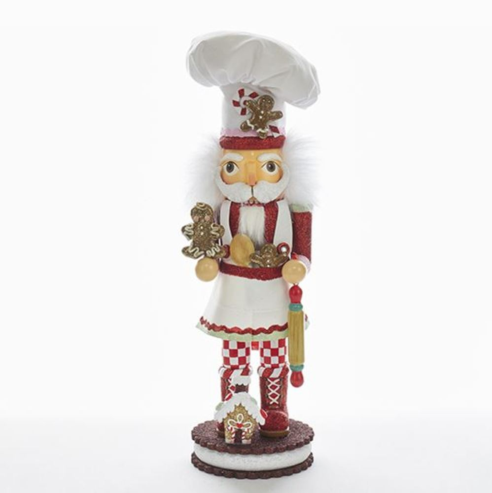 Nutcracker - Gingerbread Chef Nutcracker - 15in