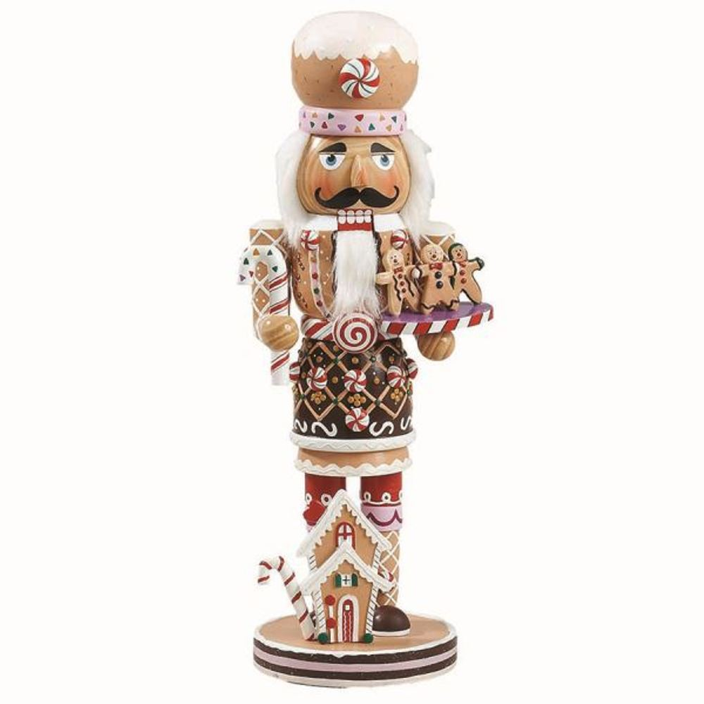 Nutcracker - Gingerbread Nutcracker - 16in